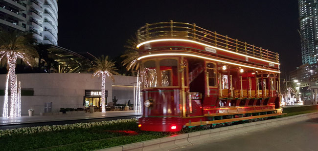 Dubai Trolley is a must hop-on experience while in Dubai