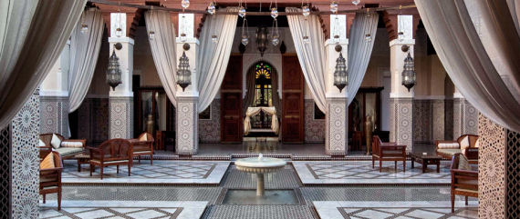 Royal Mansour Hotel in Morocco