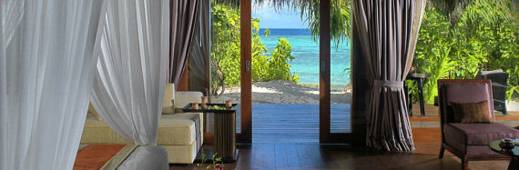 The Jumeirah Dhevanafushi hotel in Maldives