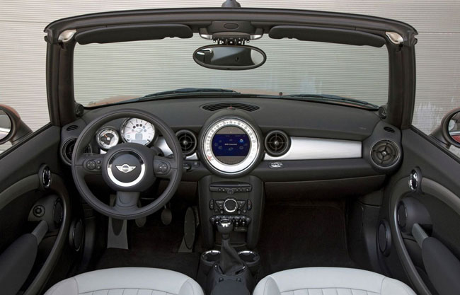 The Dashboard of any Cooper Mini will make you look.