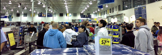The pinnacle of holiday shopping; Black Friday
