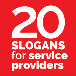 20 Slogans for Service Providers (+40 Punchlines, Taglines