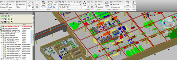 CAD Drafting plays a major rule in designing factories and stores, as an example.