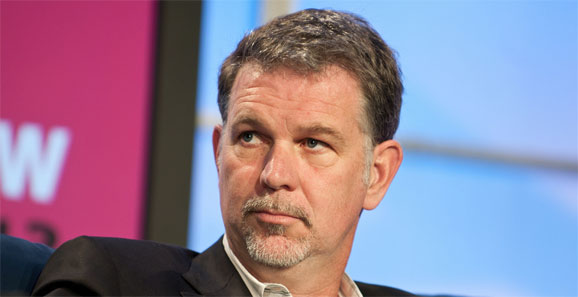 Reed Hastings, Netflix, committed few business sins on his own. Photo @ JD Lasica.