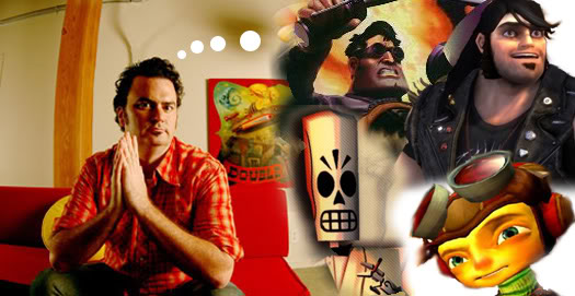 Tim Schafer brought much attention to successfully-funded Kickstarter videogames