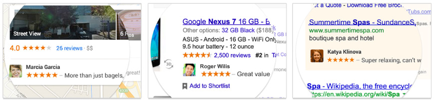 Google Ads using users' content!