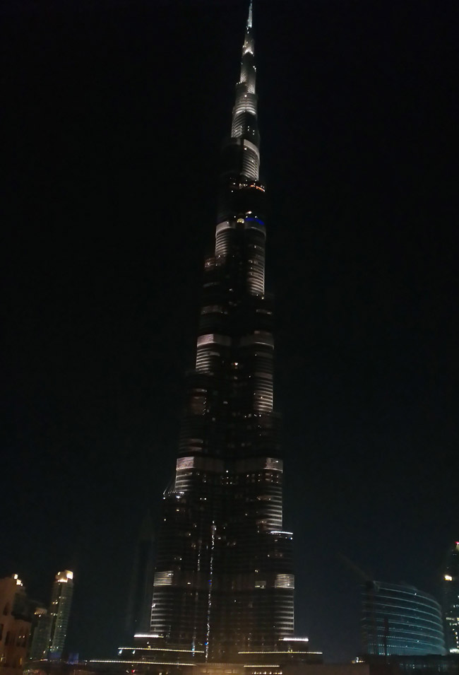 Lenovo Vibe Z - Dubai, Burj Khalifa, Super Night Mode