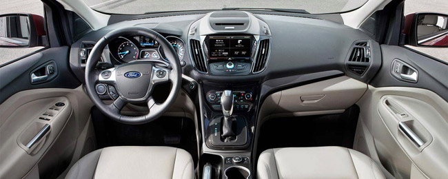 Ford Escape 2015's interior