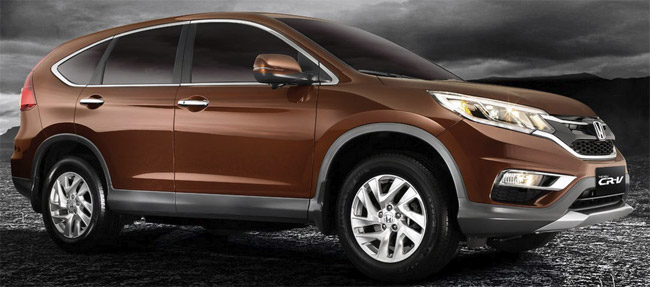 The Honda CRV 2015 - right side.