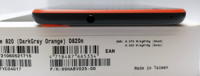 The HTC Desire 820 has a 7.7 Mm of thickness