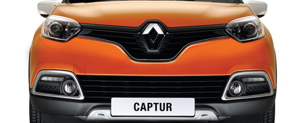 The Renault Captur black on orange full option is AMAZING