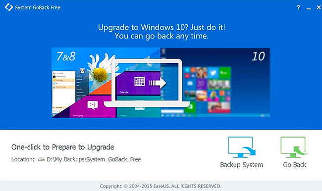 Rollback from Windows 10 is easy as 1 2 3!