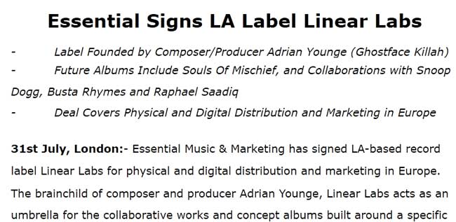 Linear Labs Records