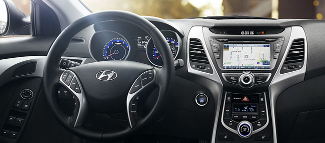Hyundai Tucson 2016, American full options model dashboard