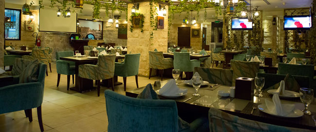 Qutoof Restaurant and Cafe, Gloria Hotel, Dubai Media City
