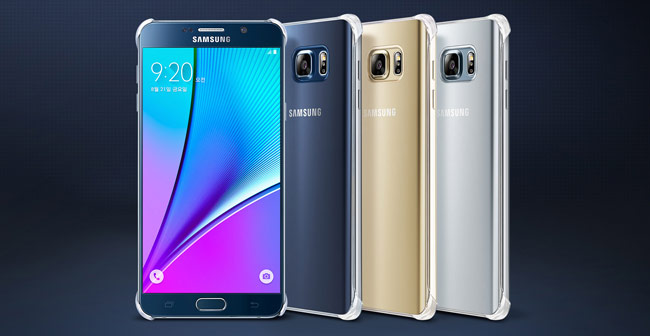 The 4 flavors of the Samsung Note 5