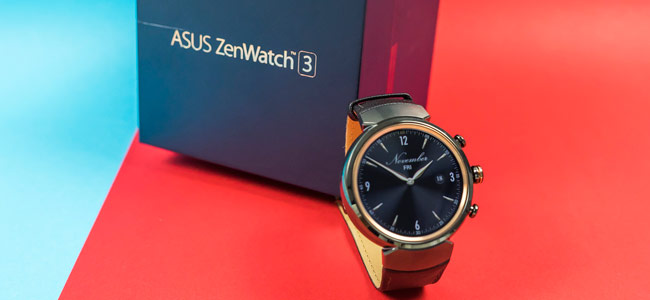 Asus ZenWatch 3 looks slick, yet it under-delivers