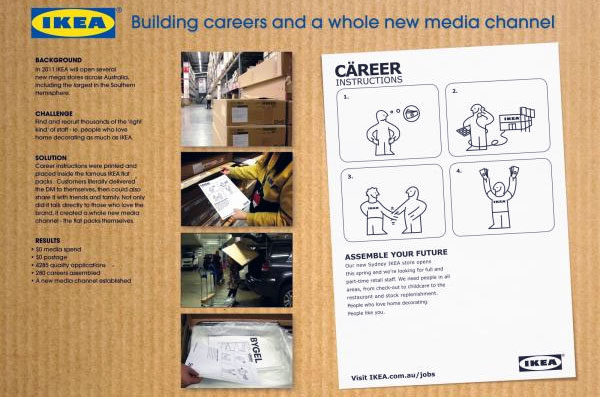 Australia IKEA Assemble your future HR campaign
