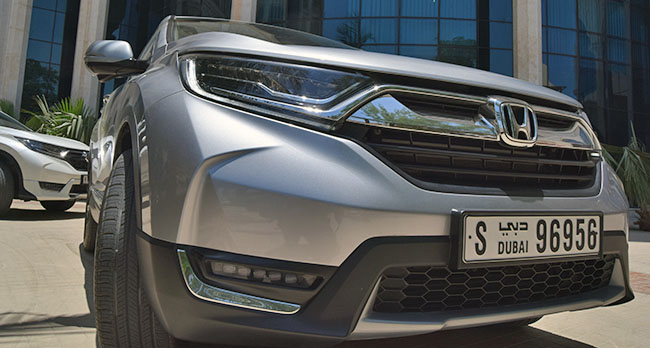 The Active Shutter Grille System of the Honda CR-V 2017