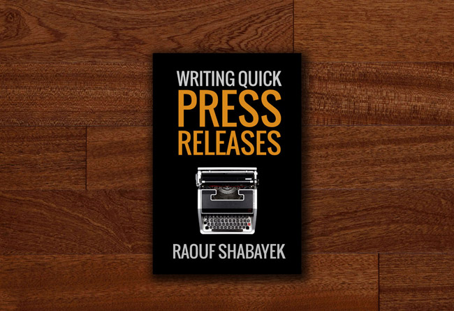Do you want to try writing quick press releases for your gig / side project / hustle / startup?