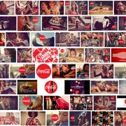 COCA COLA's TASTE THE FEELING example of integrated marketing strategy.