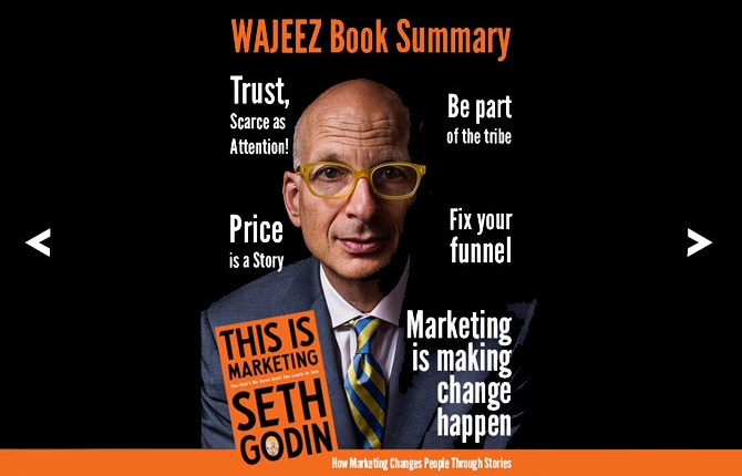 Wajeez Book Summary - This Is Marketing